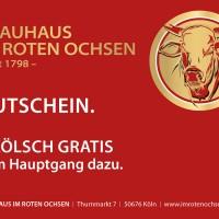 Brauhaus im roten Ochsen - Infoflyer
