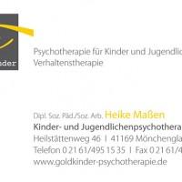 Goldkinder - Visitenkarte